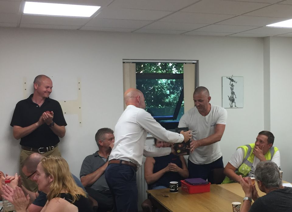 Marlow employees celebrate 25 years of service